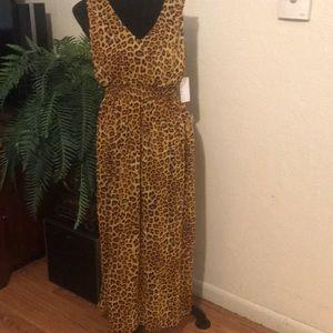 Cheetah print maxi